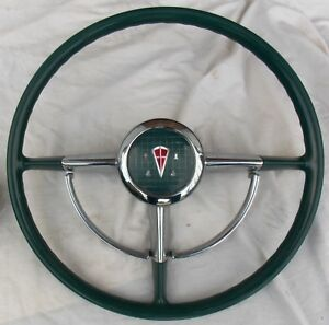 Vintage 1949 To 1953 Hudson Steering Wheel Horn Ring Rat Rod