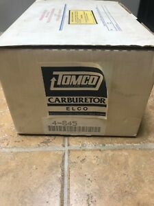 Tomco Holley Carburetor 4 845 v8 Ford