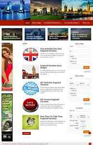 6 Travel Planning Websites For Sale All Websites Have Mobile Friendly Designs