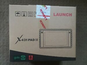 Launch Automotive Electronic Scanner Tool X431 Pad Ii Tablet W Adaptor Box Pad 2