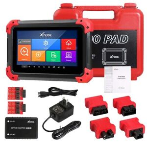 Us Stock Xtool X 100 Pad Tablet Obd2 Scan Programmer Odometer Correction Eeprom
