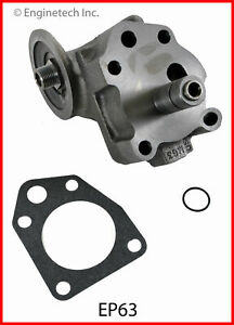 Enginetech Ep63 Oil Pump Chry Dodge 361 383 400 413 426 440
