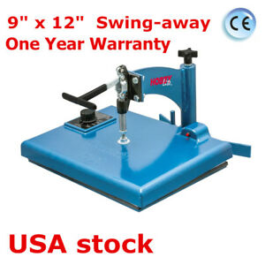 Usa Hix Hobby Lite Manual 9 X 12 Swing away Heat Press With Hand held Timer