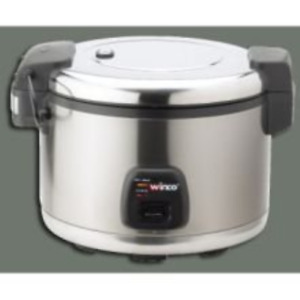 Commercial Electric Rice Cooker Warmer With Hinged Cover 30 Cups