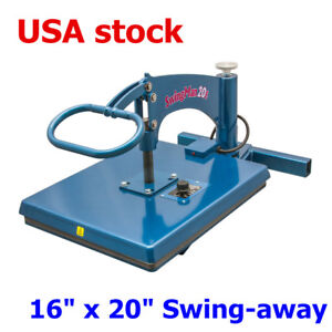 Usa Hix Swingman20e Manual 16 X 20 Swing away Heat Press With Hand held Timer