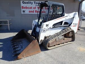 2015 Bobcat T630 74 Hp Doosan Diesel Aux Hydraulics Fully Serviced Warranty