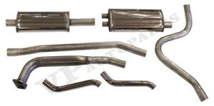 Exhaust System Volvo P1800 66 73 2 Stainless Steel