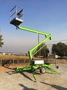 New 2019 Niftylift Tm34he Tow Behind Niftylift Boom Lift 40 Work Height