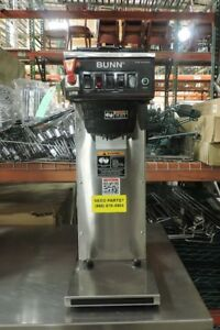 Bunn Cwtf aps Series Commercial Coffee Brewer With Plastic Funnel 240v 1 Phase