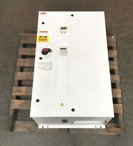 Abb Variable Frequency Drive Ach550 bdr 125a 4 100 Hp 3 Phase 48 63 Hz