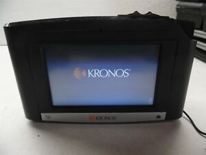 Kronos Intouch 9000 Time Clock 8609000 028 With Bio