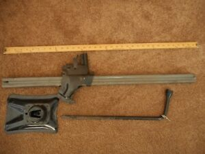 Vintage Bumper Jack Pontiac Chevy Buick Olds Ford Dodge Plymouth