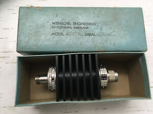 Weinschel Engineering Attenuator Model 693 10 10 13 Db W Box