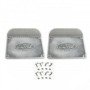 Ford Step Plates W Oval Ford Script W Hardware Model A Pickup 6 1 2 X 8 1 2