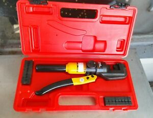 Central Hydraulics Hydraulic Wire Crimping Tool 14 To 0 Awg Kit 66150