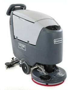 Advance Sc500 Disc Floor Scrubber Maint free Batteries