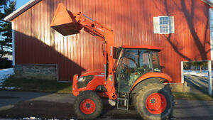 2016 Kubota M7060 4x4 Utility Tractor W Cab Loader 60 Hours 70hp Diesel 12 12