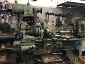 Lathe Machine Used Vintage Hendey Brand Made In Usa