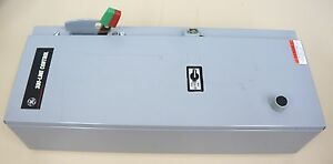 Ge Magnetic Starter Cr308c1822paatda 3 Pole Fused Disconnect Power Transformer