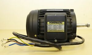Powermatic Single Spindle Shaper 25a 3 Electric Motor 5 Hp