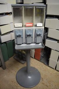 lowest Price 2 Vendstar 3000 Candy Vending Machines Light Grey