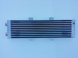 Water To Air Intercooler Radiator Heat Exchanger Dual Pass Turbo D