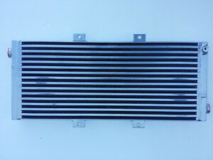 Water To Air Intercooler Radiator Heat Exchanger Triple Pass Turbo T