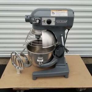 Hobart A 200 20 Qt With Safe Guard Timer Stand Stainless Steel Bowl Hook Beater