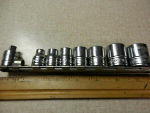 Snap On 8 Piece Socket Set Double Square 8 Point 3 8 Drive Chrome F320 f308