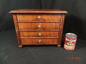 Nice 19th Century Miniature Antique Dresser Chest Salesman Sample