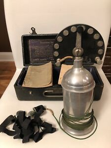 Antique Authentic Electricure Quack Medical Device Mckee Johnson Collectable