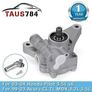 Power Steering Pump For 98 02 Honda Accord 3 0l Odyssey 3 5l V6 Replace 21 5993