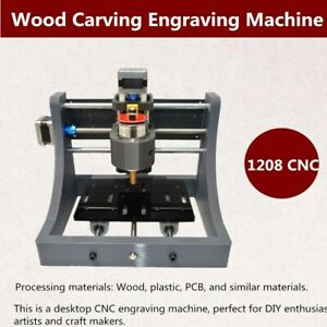 1208 Cnc Router Engraver Machine Engraving Cutting Milling Drilling 3axis Pcb Us
