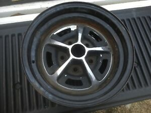 14 X 7 Lz Rally Wheel Chevelle 442 Gm Cutlass Buick Oldsmobile Chevrolet Mi2