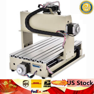 4 Axis Desktop Cnc 3020 Router Engraver 300w Pcb Engraving Mill Drill Machine Us