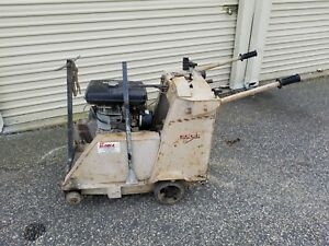 Edco Street Road Saw 16 Ss 16 11r Self Propelled Wet Saw 11hp Gas Engine