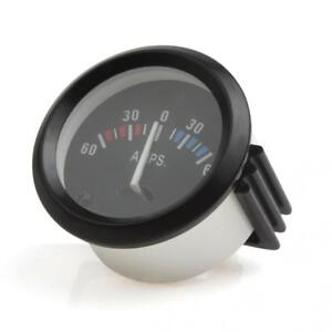 52mm 12v 60 0 60 Amp Universal Ammeter Gauge Meter Voltmeter Gauge For Car
