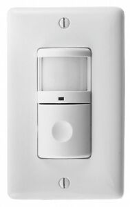 Hubbell Ws2000w Infrared Wall Switch Motion Sensor