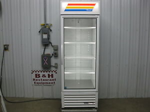 True Gdm 23 hc tsl01 Glass 1 One Door Merchandiser Refrigerator Cooler 201