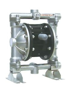 Industrial Chemical Resistant Stainless 1 2 Inch Air Tf Diaphragm Pump