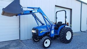 2015 New Holland Workmaster 35 481 Hours 4x4 W loader 33hp