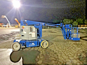 Boom Lift Genie z34 22n Articulating 40 High 261 Hours New 2014