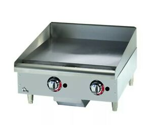 Star max 8g 624mf 24 Manual Control Gas Griddle Flat Top Grill