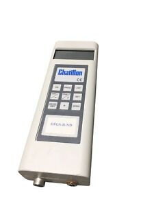Chatillon Dfgs r nd Series 1000lb Digitalremote Loadcell Force Gauge Instrument