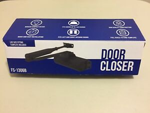 Door Closer Black Fs 1306b Automatic Adjustable Heavy Duty Door Closer