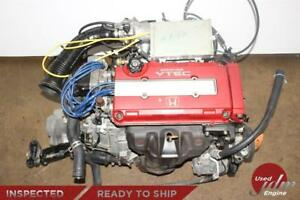 Jdm Dc2 Honda B18c Engine Type R 96 97 Spec Dohc Vtec 1 8l B18c5 Engine Only