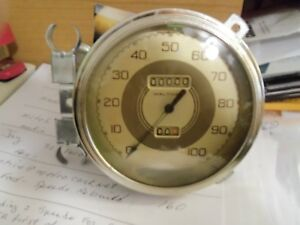 1937 1938 Ford Speedometer waltham Serviced Rebuilt