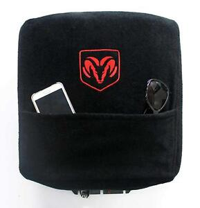 Custom Fit Console Cover With Embroidered Logo For Select Dodge Ram