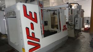 Used Haas Vf e Cnc Vertical Machining Center 20x16 Mill Ct40 Rigid Tap 4th Ready