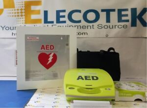 Recertified Zoll Aed Plus Semi automatic With Alarmed Cabinet 5 Years Warranty